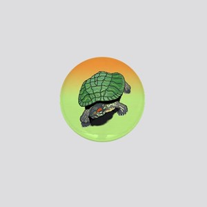 Red Eared Slider (Turtle) Mini Button