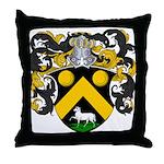 DeKoster Family Crest Throw Pillow