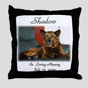 Custom personalized Pet Memorial Throw Pillow