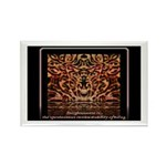 Enlightenment Is Collection Rectangle Magnet