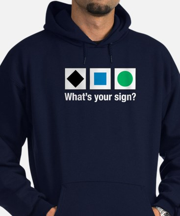 What's Your Sign? Hoodie (dark)