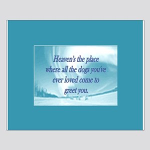 Dogs Heaven Small Poster