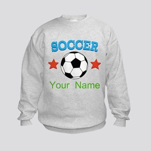 Personalized Soccer Ball Name Hoodie Sweatshirt