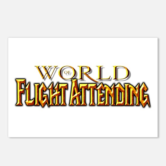 World of Flight Attending Postcards (Package of 8)