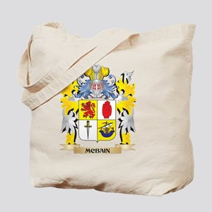 Mcbain Coat of Arms - Family Crest Tote Bag