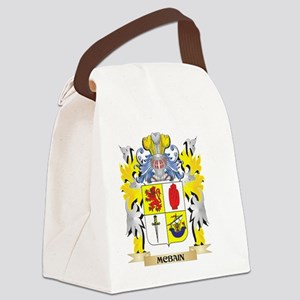 Mcbain Coat of Arms - Family Cres Canvas Lunch Bag