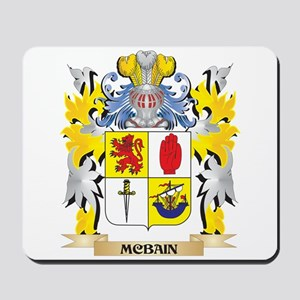 Mcbain Coat of Arms - Family Crest Mousepad