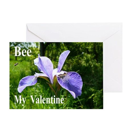 Honey Bee with Iris Card