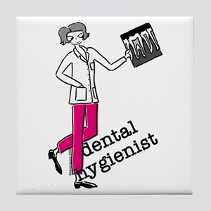 Dental Hygienist Tile Coaster