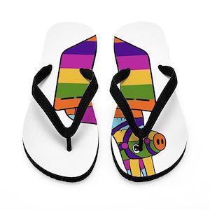 4cc3a030b7e0f Funny Mexican Flip Flops - CafePress