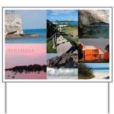 Bermuda Collage by Khoncepts Yard Sign
