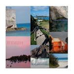 Bermuda Collage Tile Coaster - by Khoncepts