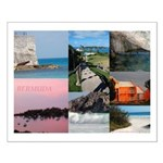 Bermuda Collage by Khoncepts Small Poster