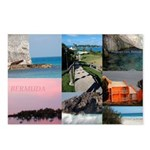 Bermuda Collage by Khoncepts Postcards (Package of