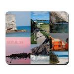 Bermuda Collage by Khoncepts Mousepad