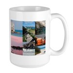 Bermuda Collage by Khoncepts Large Mug
