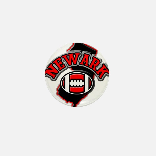 Newark Football Mini Button