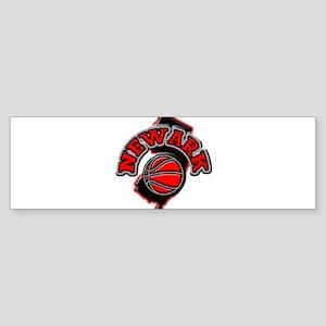 Newark Basketball Bumper Sticker