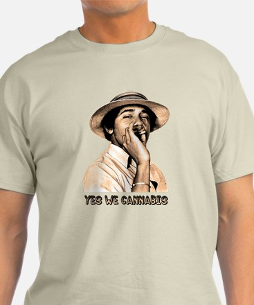 Barack Obama: YES WE CANNABIS - T-Shirt