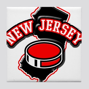 New Jersey Hockey Tile Coaster