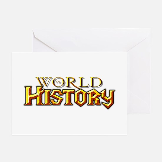 World of History Greeting Cards (Pk of 10)