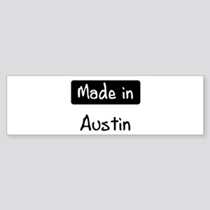 Made in Austin Bumper Sticker