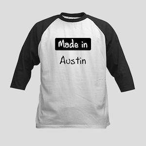 Made in Austin Kids Baseball Jersey