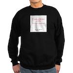 Seeks Research Assistant Sweatshirt (dark)