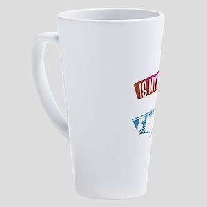 Friday Is My Second Favorite F Wor 17 oz Latte Mug
