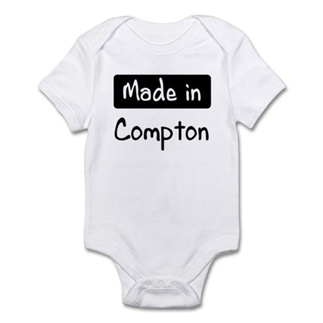Made in Compton Infant Bodysuit