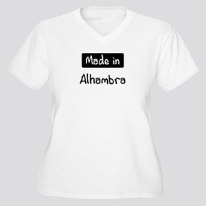 Made in Alhambra Women's Plus Size V-Neck T-Shirt