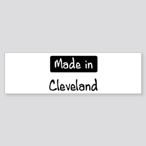 Made in Cleveland Bumper Sticker