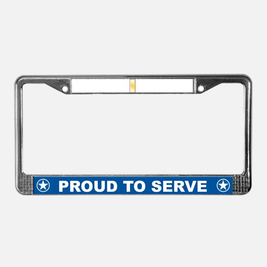 Cute Support troops License Plate Frame