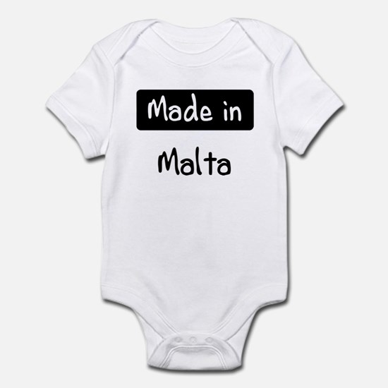 Made in Malta Infant Bodysuit