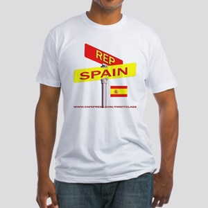 REP SPAIN Fitted T-Shirt