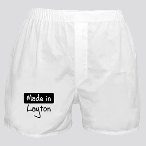 Made in Layton Boxer Shorts