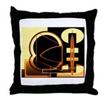 Passion for Excellence Collection Throw Pillow