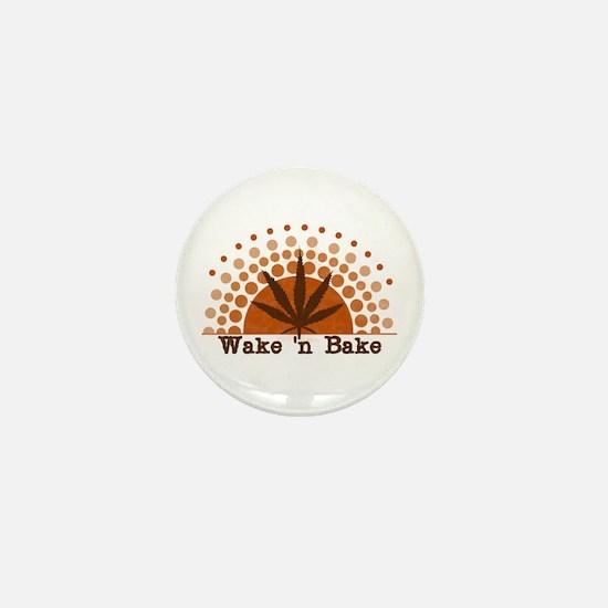 Riyah-Li Designs Wake 'n Bake Mini Button