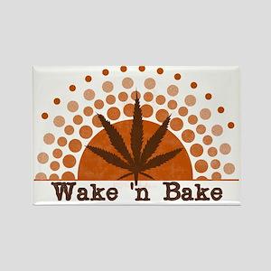 Riyah-Li Designs Wake 'n Bake Rectangle Magnet
