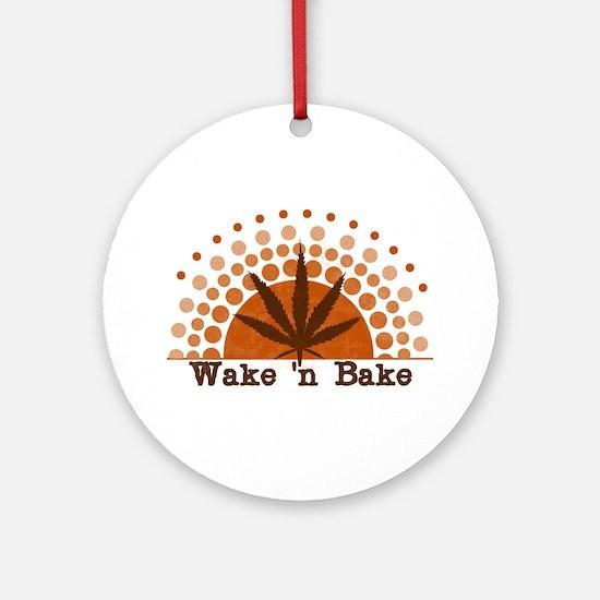 Riyah-Li Designs Wake 'n Bake Ornament (Round)