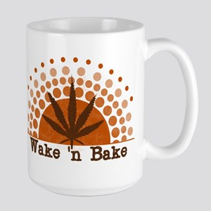 Riyah-Li Designs Wake 'n Bake Large Mug