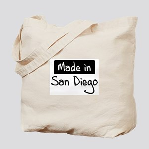 Made in San Diego Tote Bag