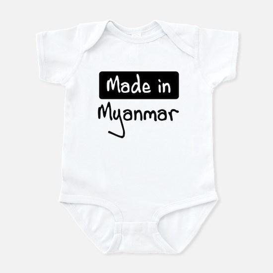 Made in Myanmar Infant Bodysuit