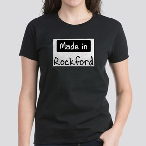 Made in Rockford Women's Dark T-Shirt