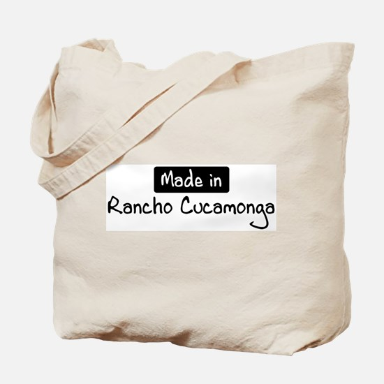 Made in Rancho Cucamonga Tote Bag