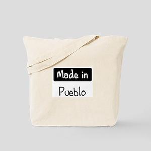 Made in Pueblo Tote Bag