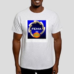 FEMA Disaster Life Cycle Ash Grey T-Shirt