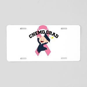 Breast Cancer Awareness Art Aluminum License Plate