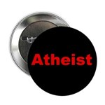 """""""Atheist"""" red on black 2.25"""" Button (10 pack)"""