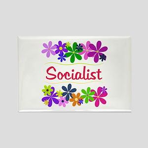 Socialist Rectangle Magnet